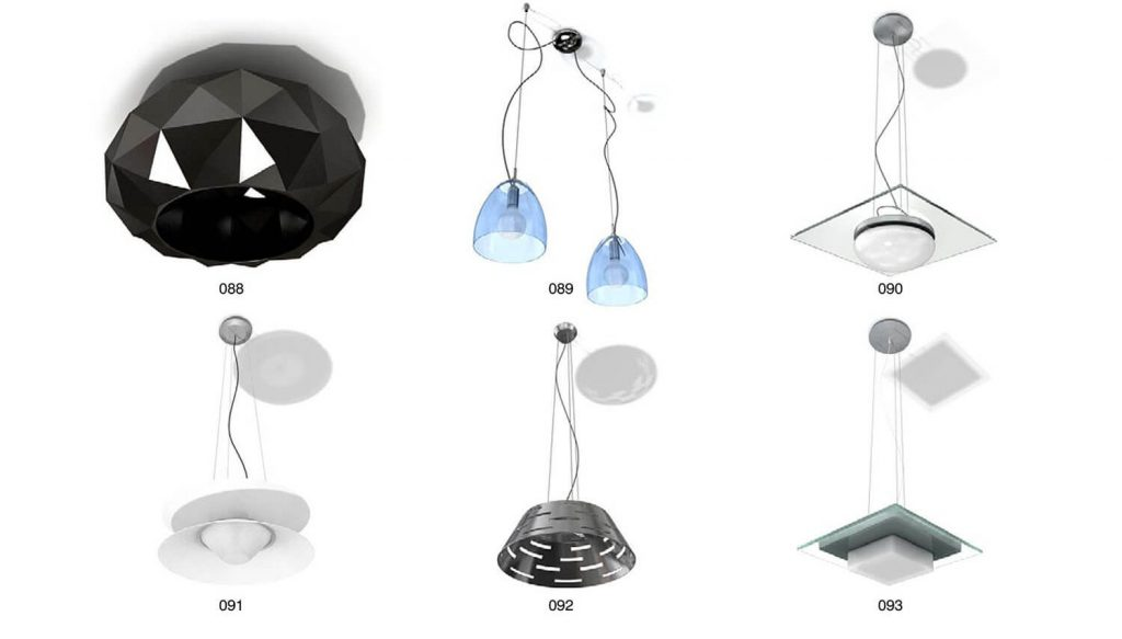 Decorative ceiling drop lights