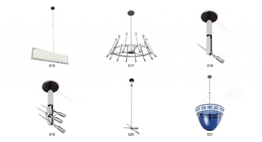 mẫu đèn chùm pha lê, đèn trang trí