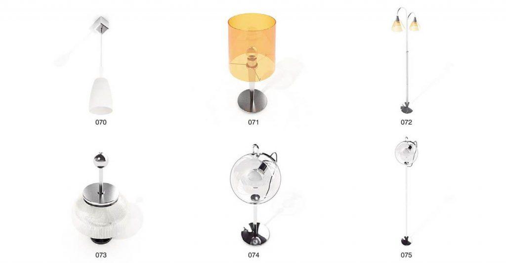 mẫu đèn chùm pha lê, đèn cây trang trí
