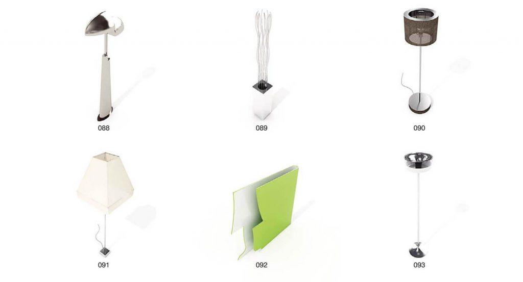 Beispielsammlung dekorativer Wohnzimmerleuchten mit Kristalllichtern, Baumlichtern, Wandleuchten - Teil 1