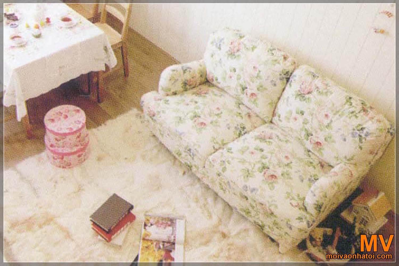 ghế sofa cổ điển châu âu