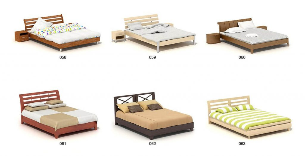 SLEEPING BED SLEEP, SIMPLE, MODERN DESIGN Part 3