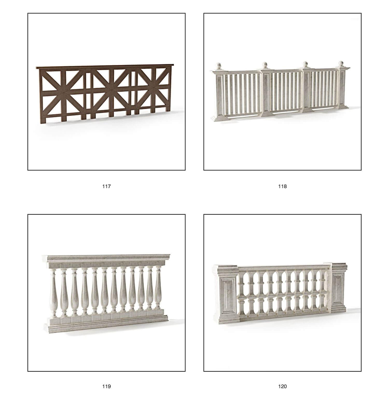 lan can ban công, cầu thang mỹ thuật bằng cách vật liệu sắt, gỗ, đá