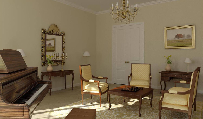 thiết kế phòng đọc sách, không gian thư giãn