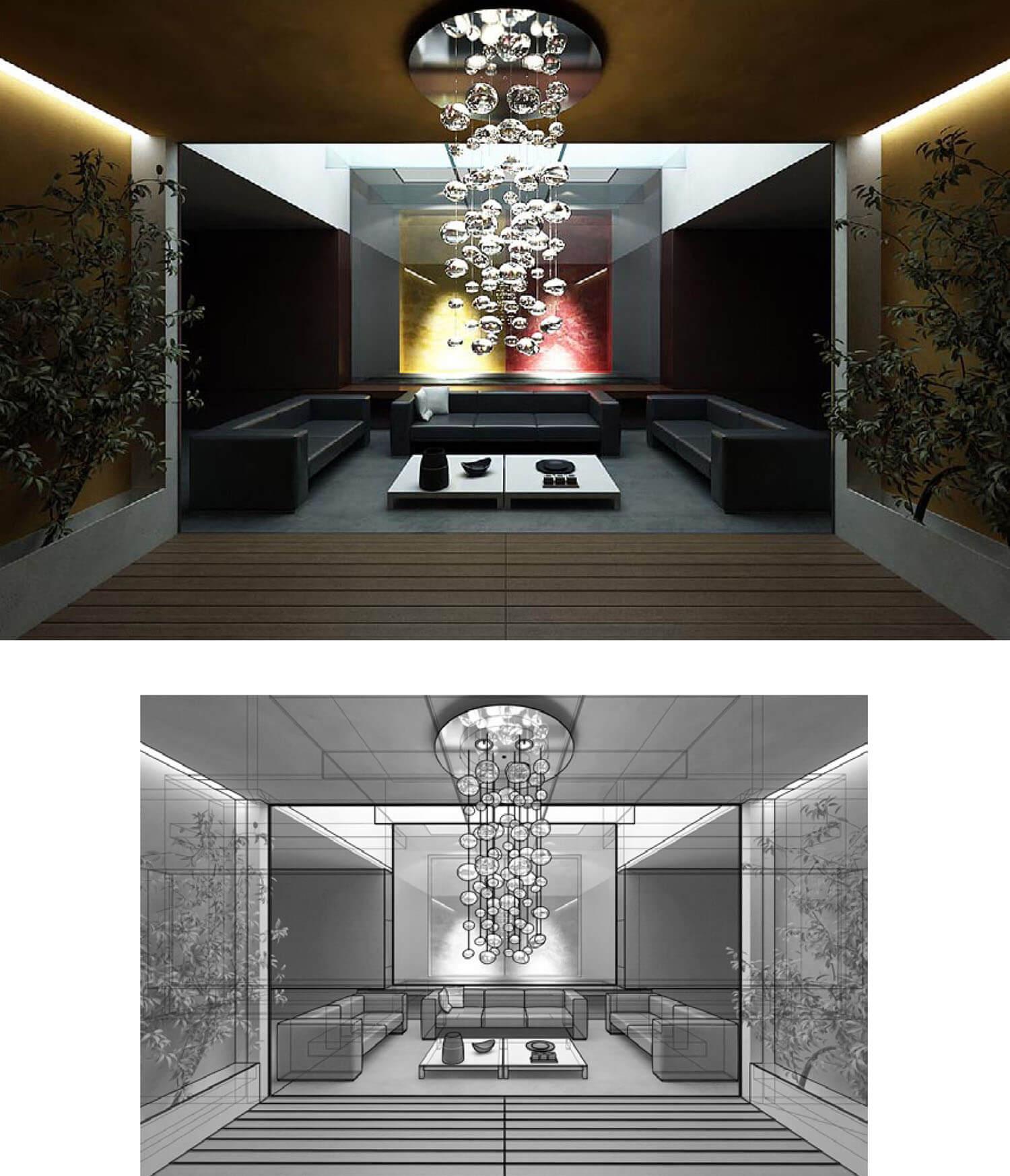 거실 인테리어 디자인