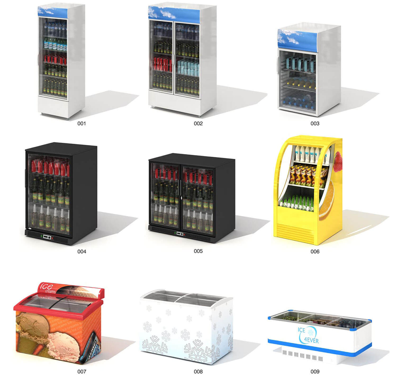 mẫu tủ đông lạnh