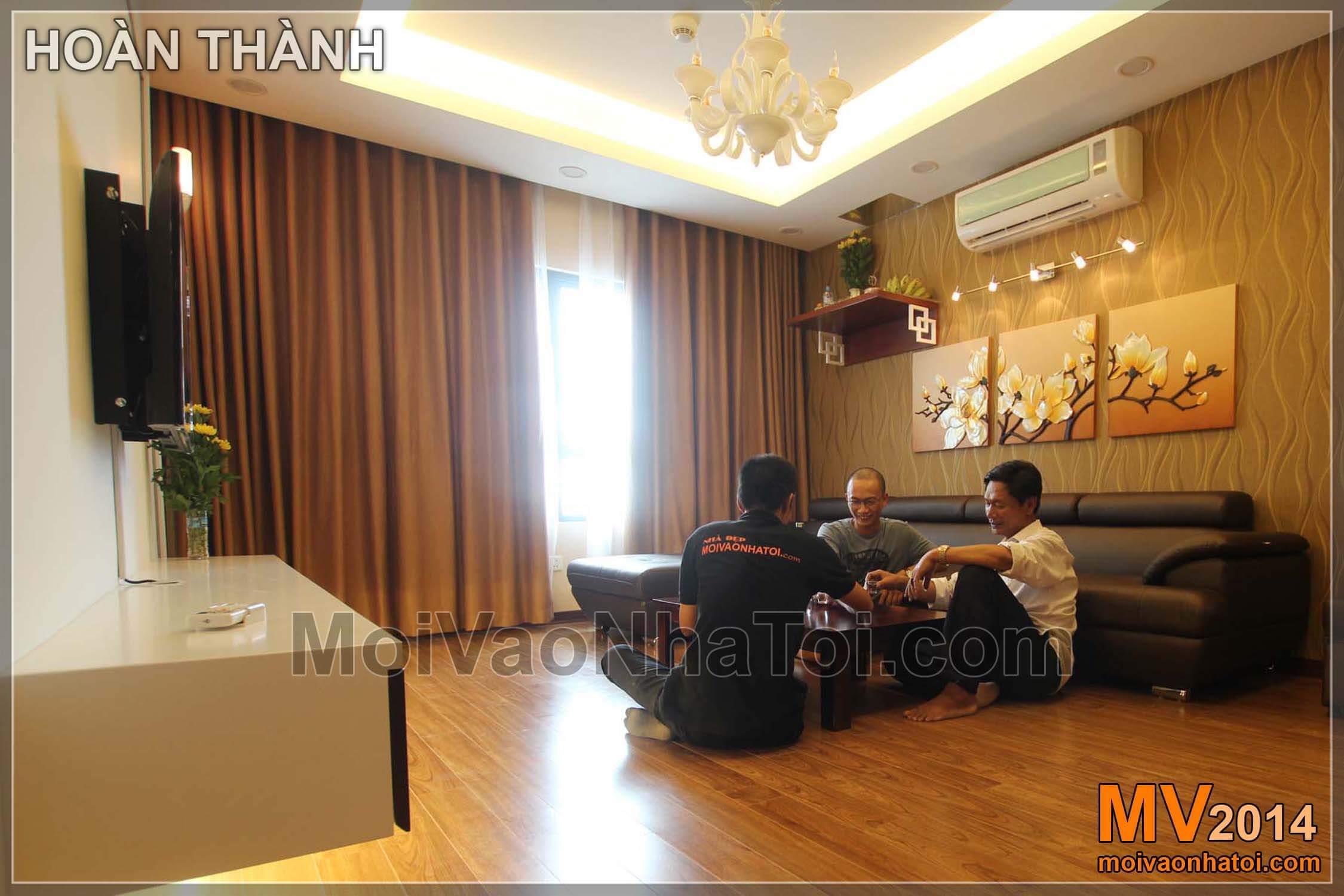 luxusní obývací pokoj navržený moruše lane bytové výstavby