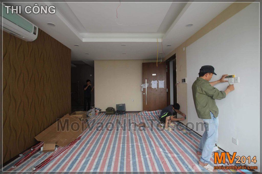 VNITŘNÍ Rezidenční oblast pro novou laoskou oblast