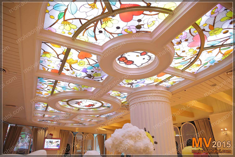 Thiết kế cửa hàng bánh ngọt Hello Kitty