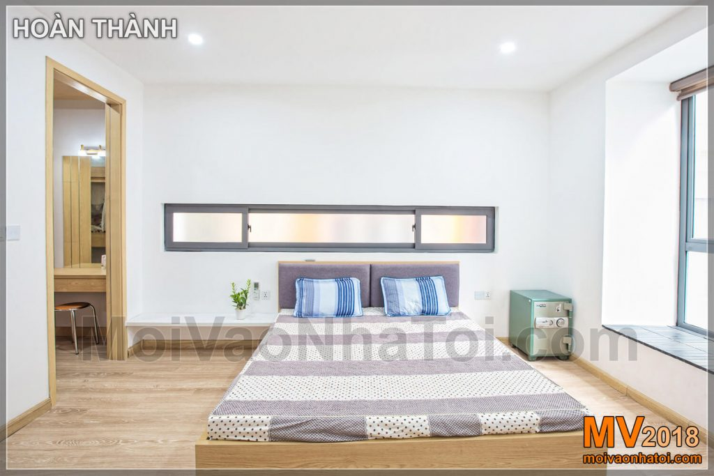 simple bedroom brightly furnished townhouse