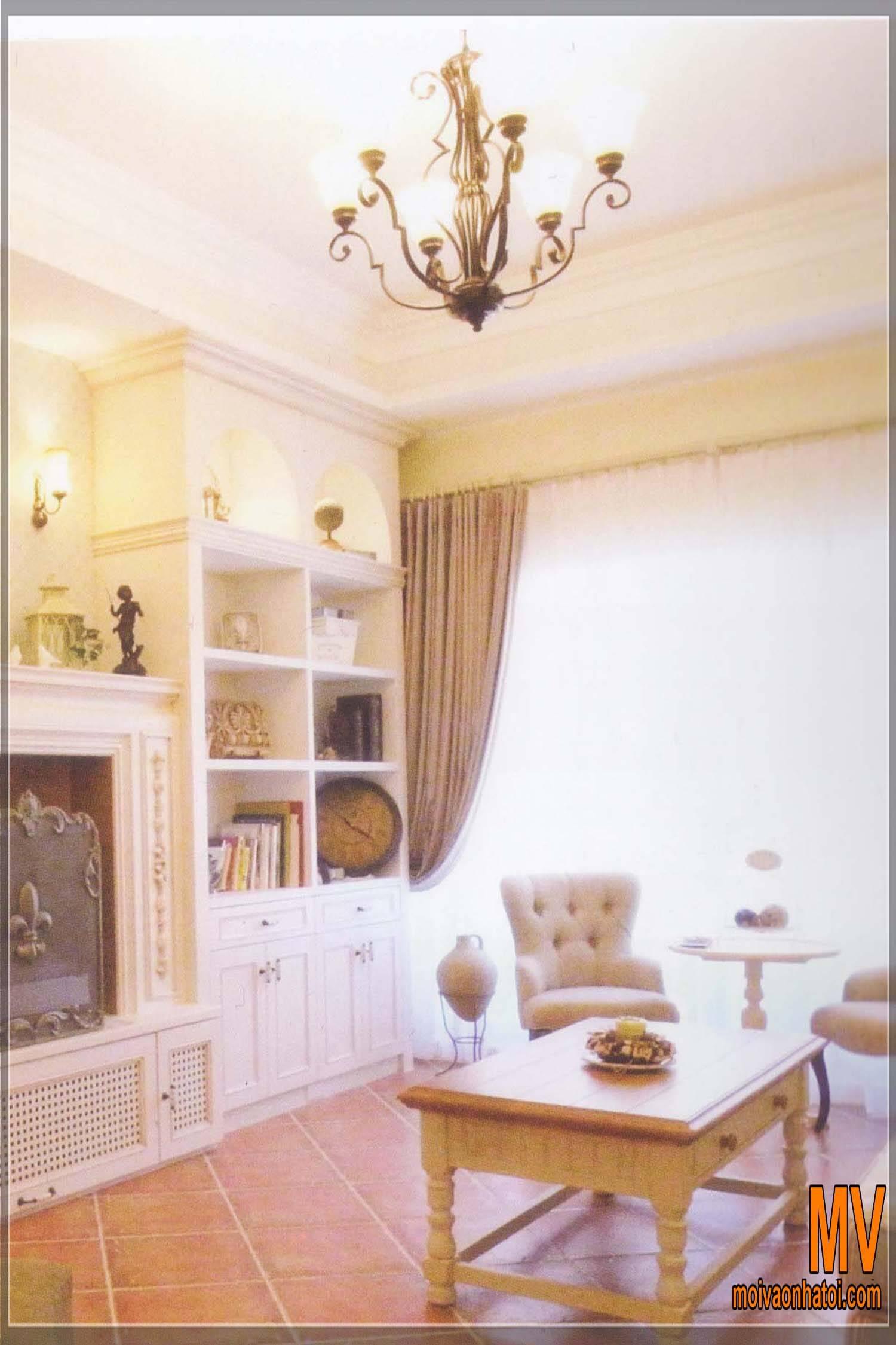thiết kế không gian đọc sách, thư giãn