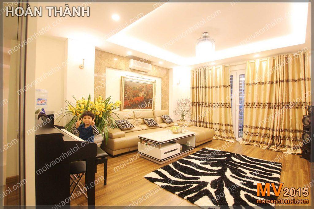 Interior design living room style modern