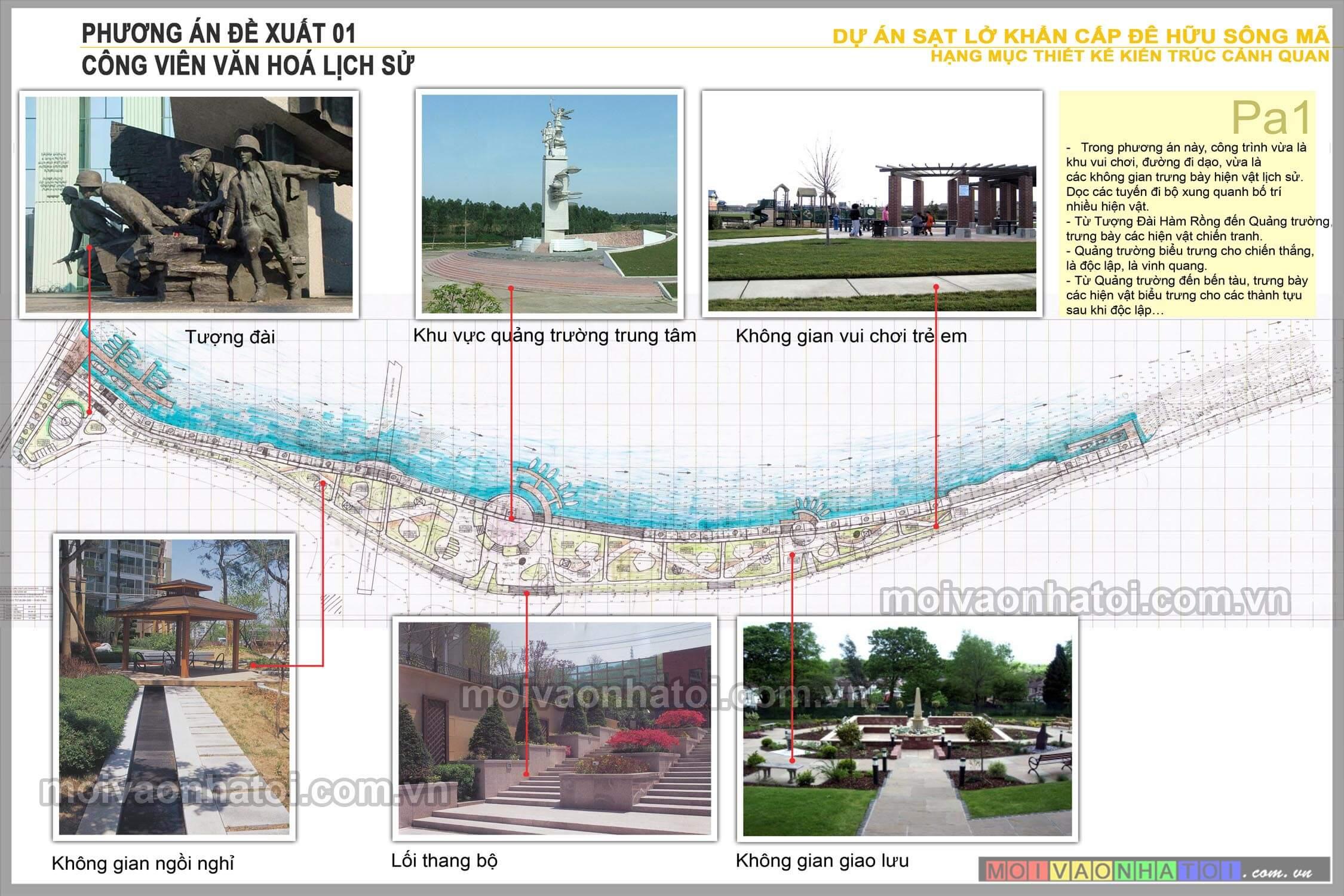 thiết kế công viên