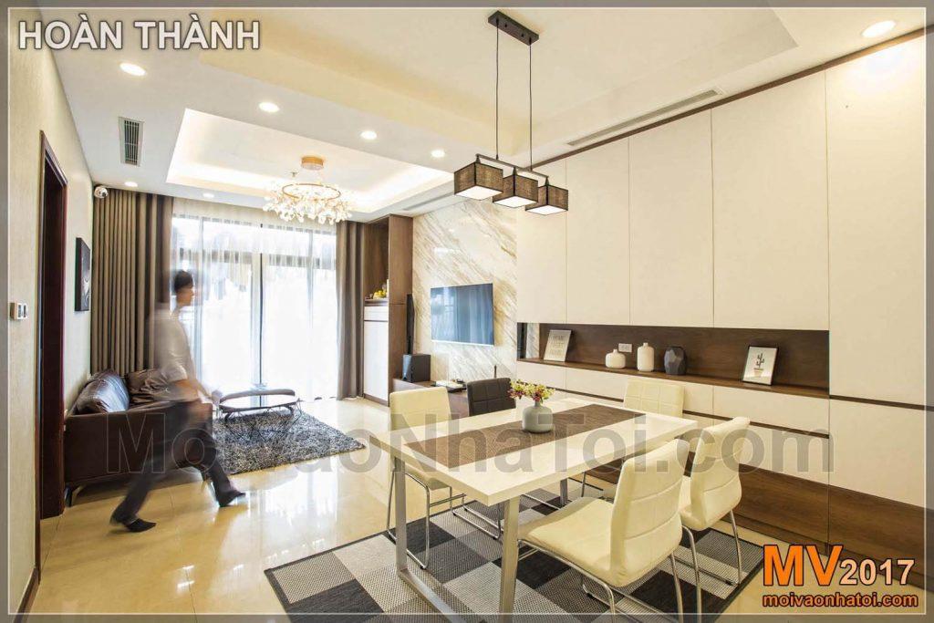 thiết kế thi công nội thất chung cư royal city