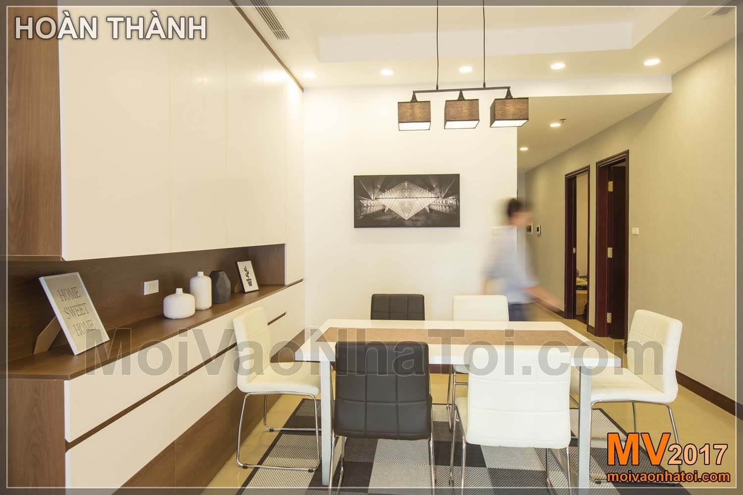 Design dining room Royal city apartment 100m2