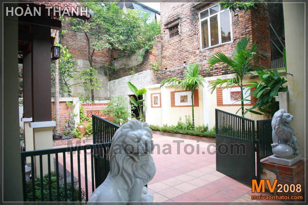 亚洲花园别墅的设计与建造
