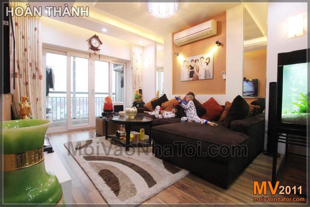 NỘI THẤT CHUNG CƯ 95M2 VIỆT HƯNG HAPPY HOUSE