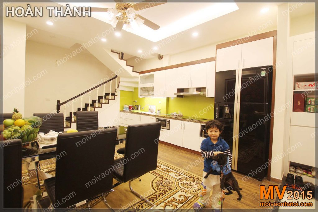 Küche und Esszimmer Stadthaus Möbel