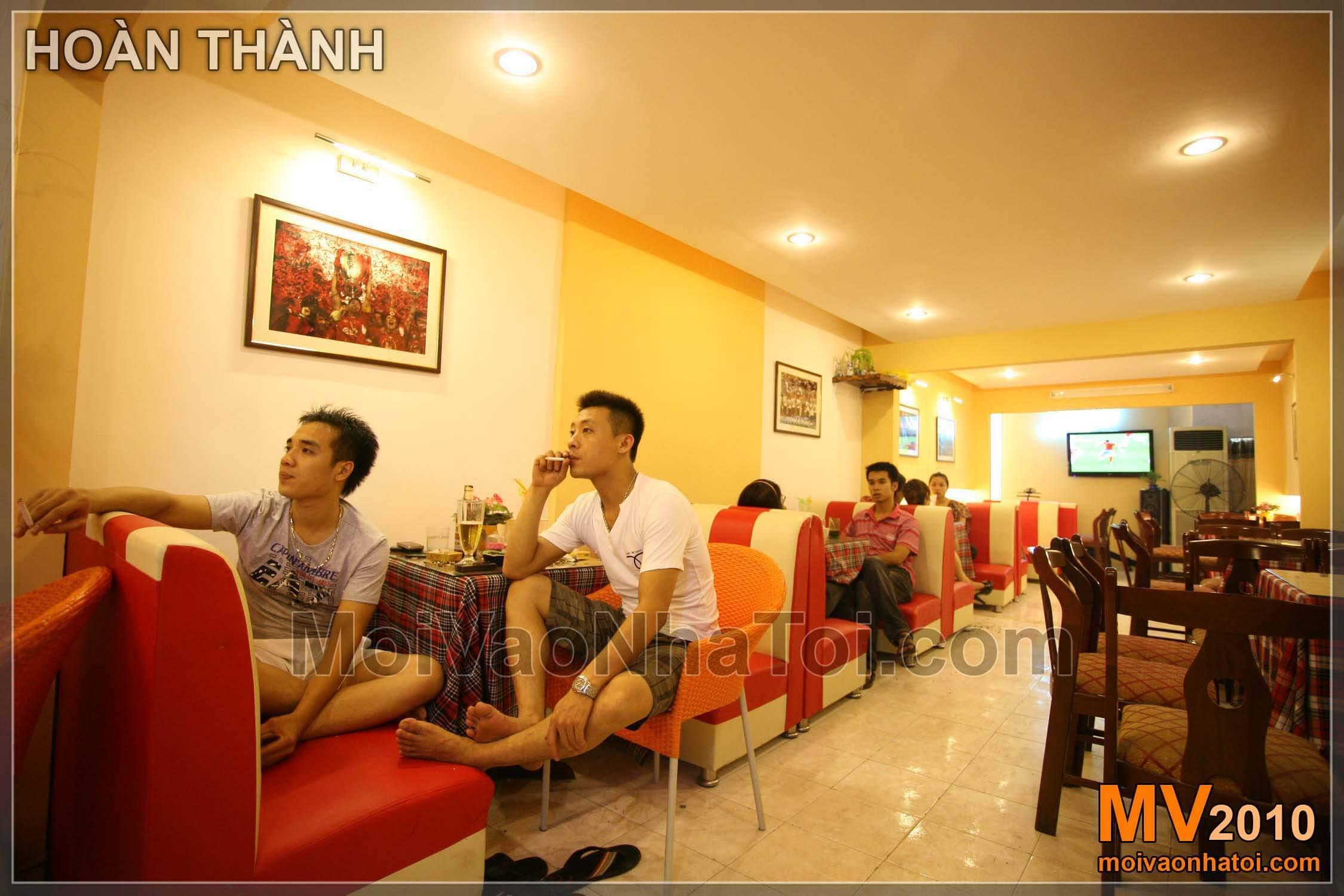 Nội thất quán cafe đơn giản
