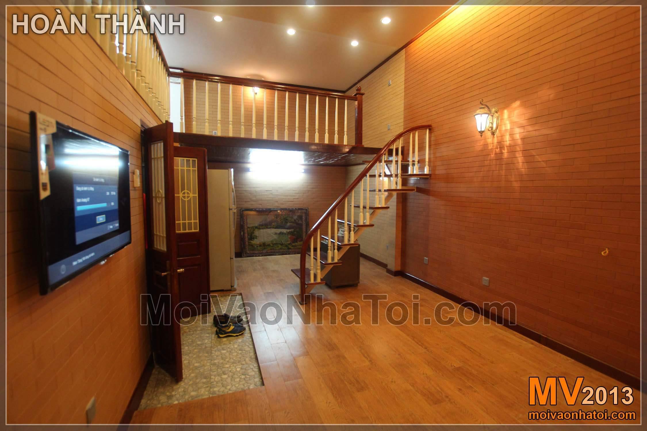 Nội thất ngôi nhà sau khi hoàn thành - thay đổi hoàn toàn khác