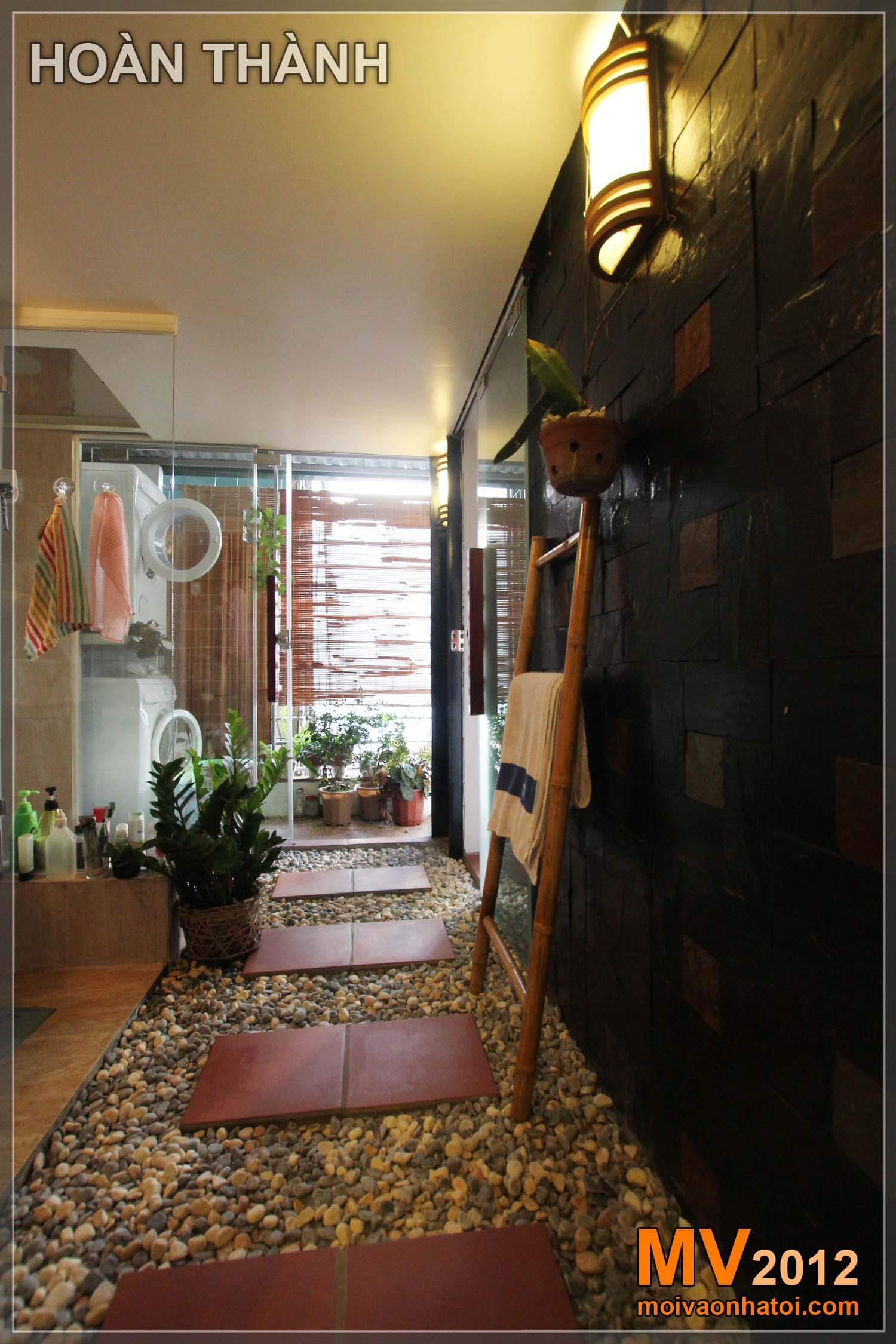 Nhà vệ sinh thiết kế theo tiêu chuẩn Khách sạn 5 sao