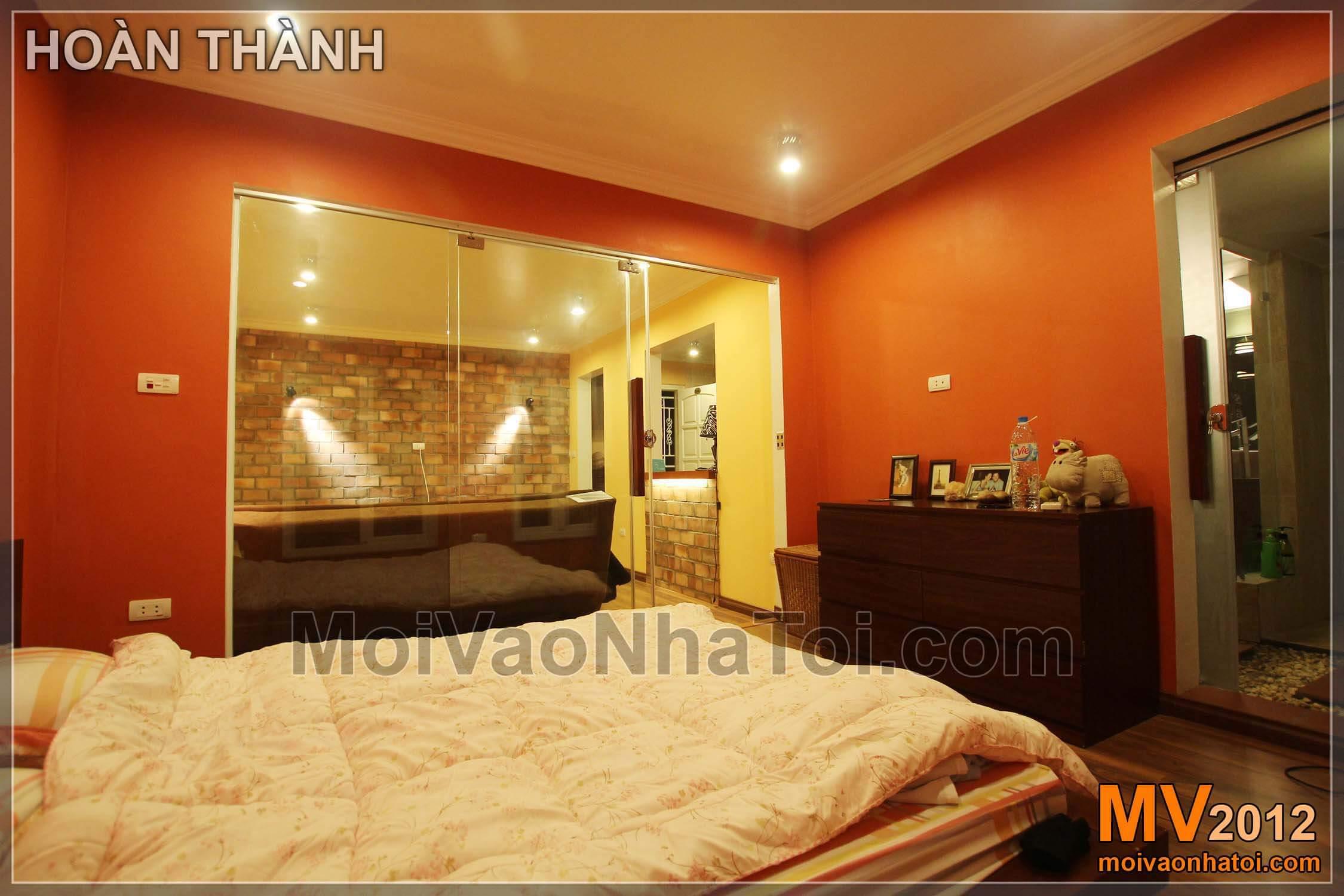 Nội thất phòng ngủ đẹp rực rỡ sắc màu