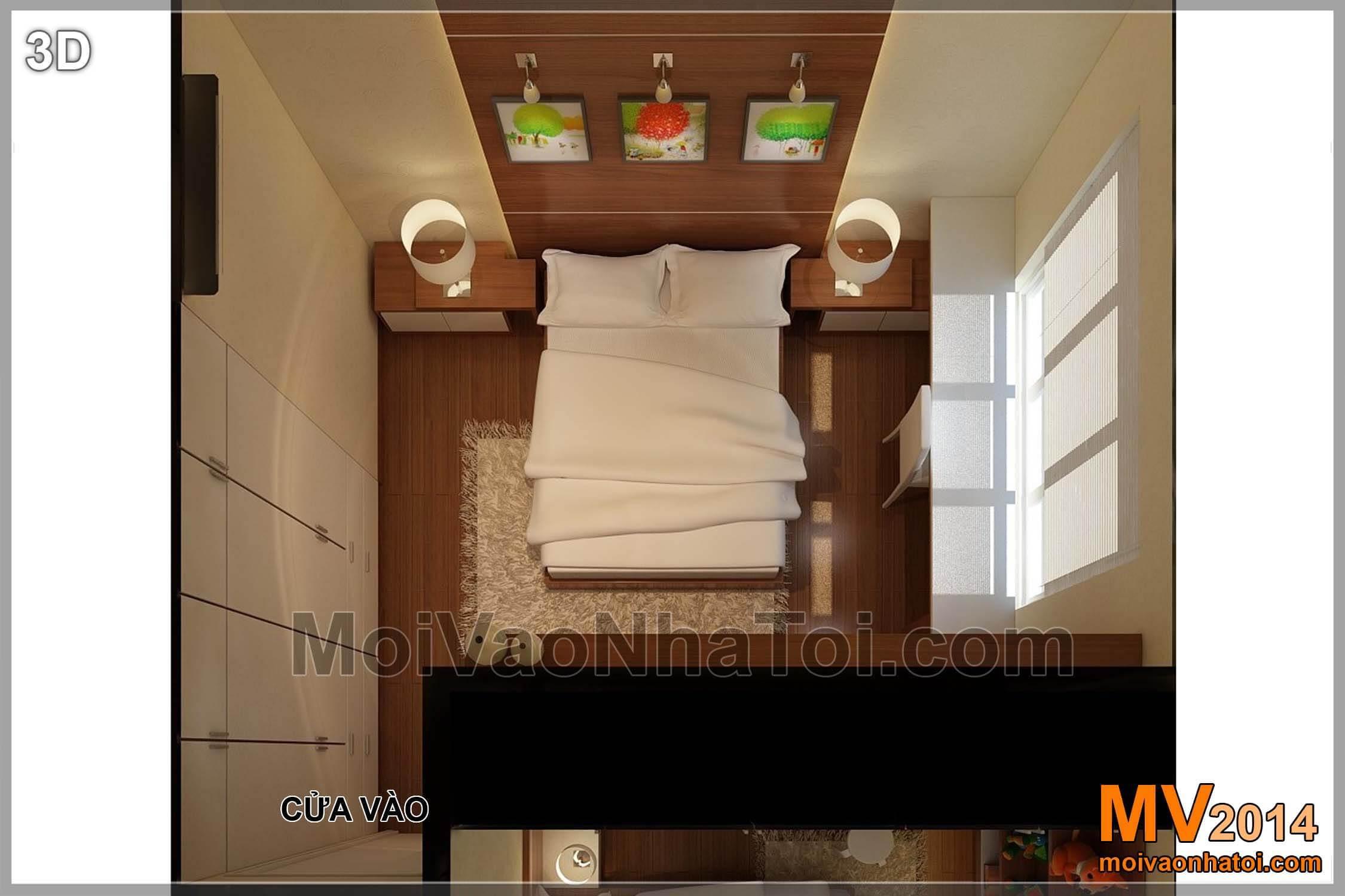 Phòng ngủ đầu tiên - Phòng ngủ con trai