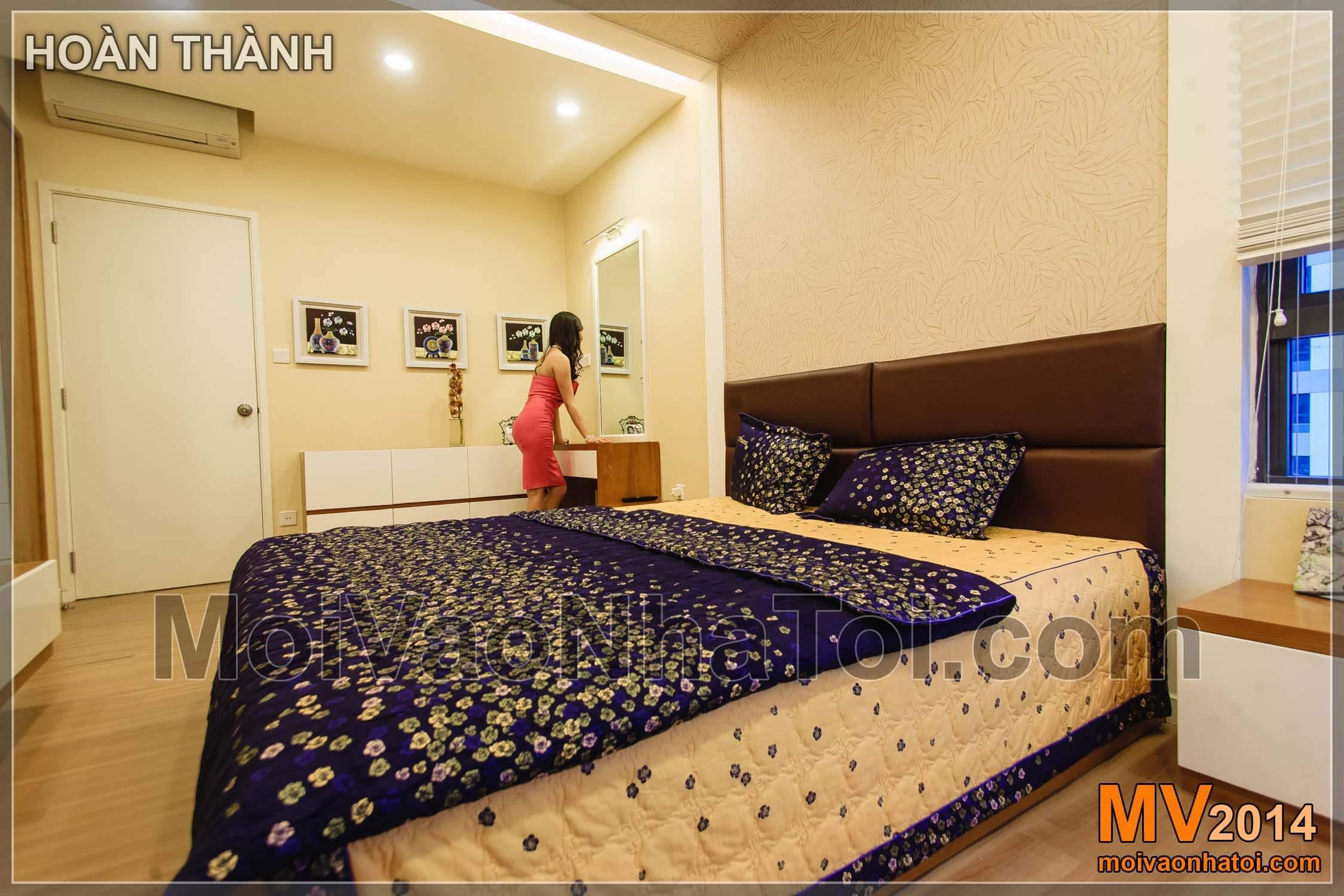 Chung cư Mulberry Lane Căn phòng với tông màu nhẹ nhàng, ấm