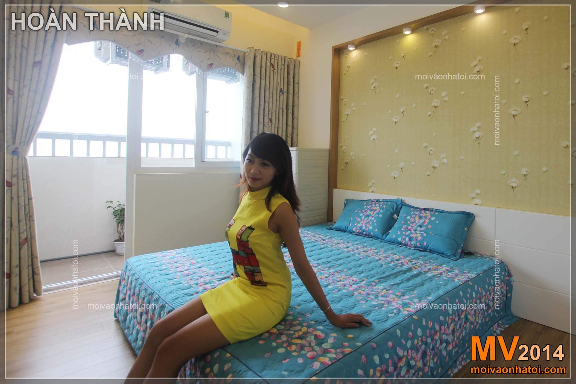 Người mẫu chung cư Việt Hưng CT9A