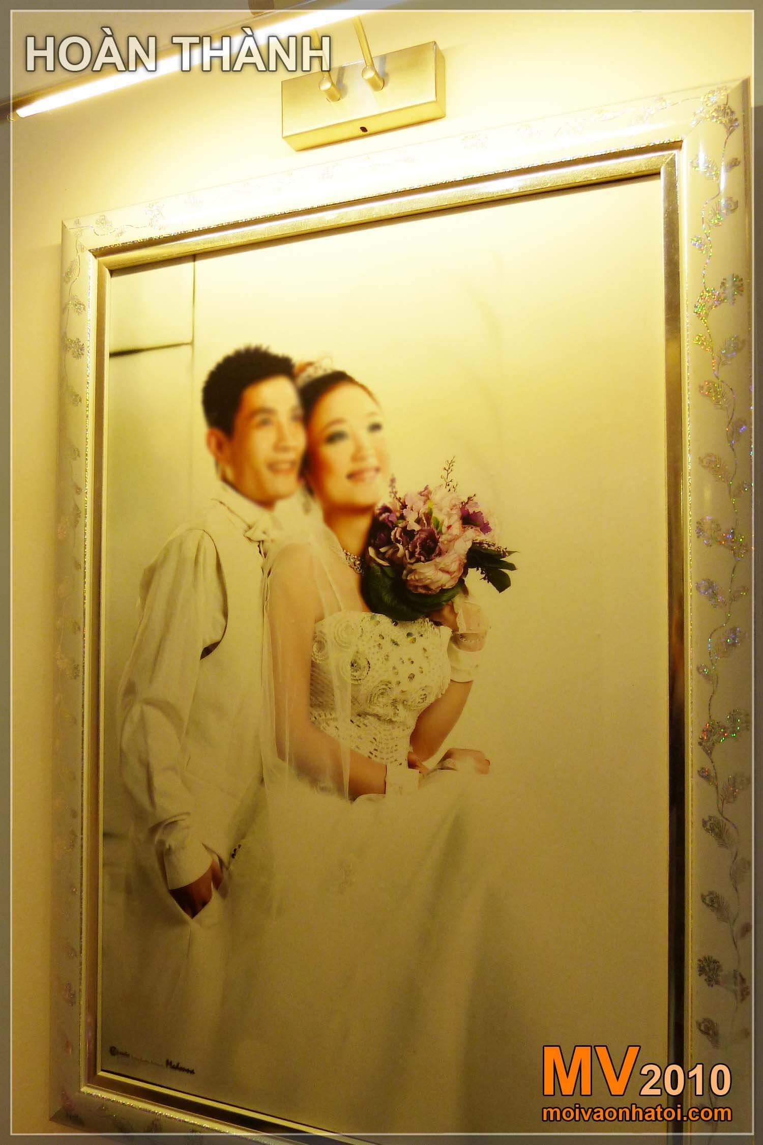 Ảnh cưới của vợ chồng trẻ