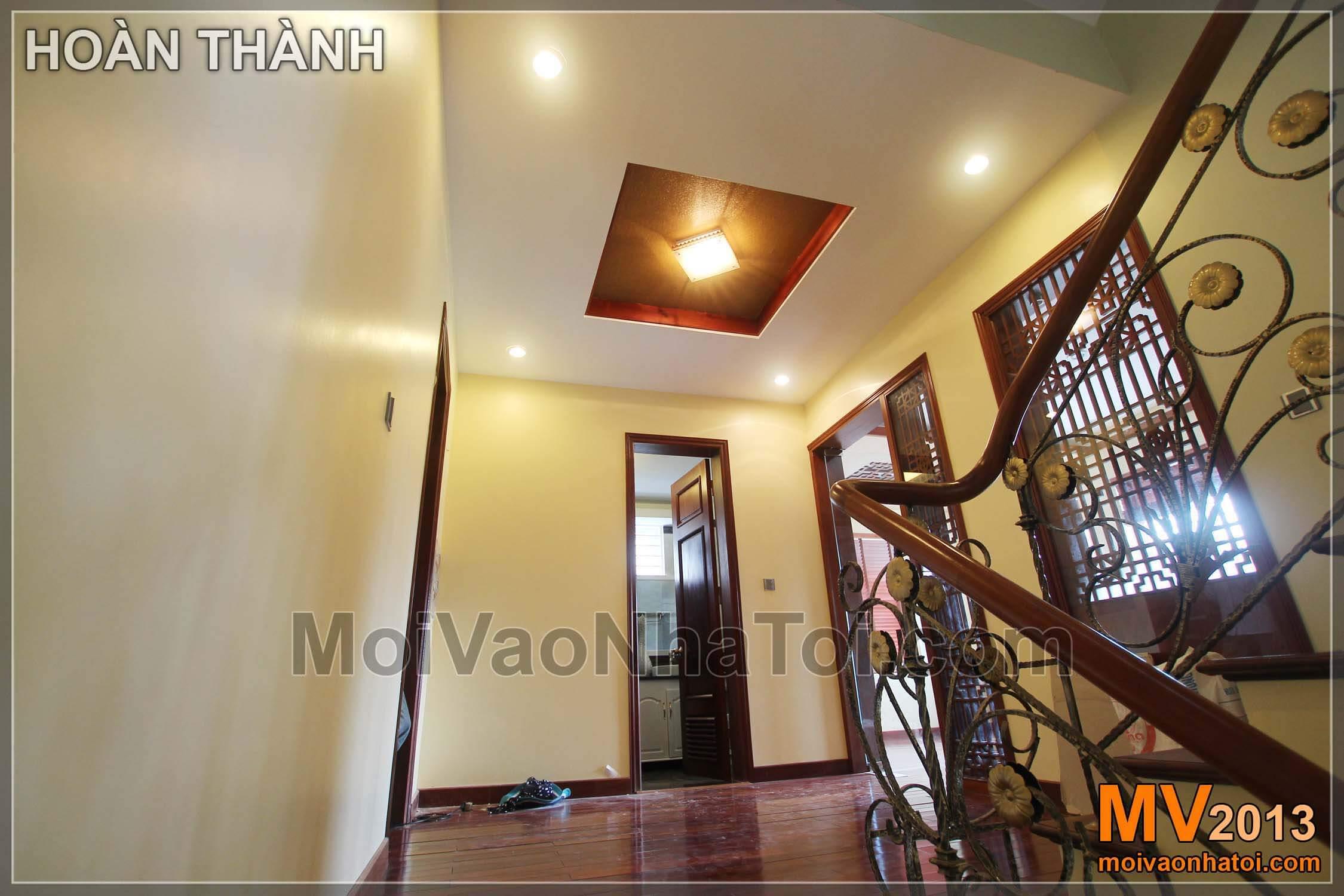 Thiết kế biệt thự đẹp khu Việt Hưng 350m2 - Phần 2: Nội thất các tầng 2, 3, 4