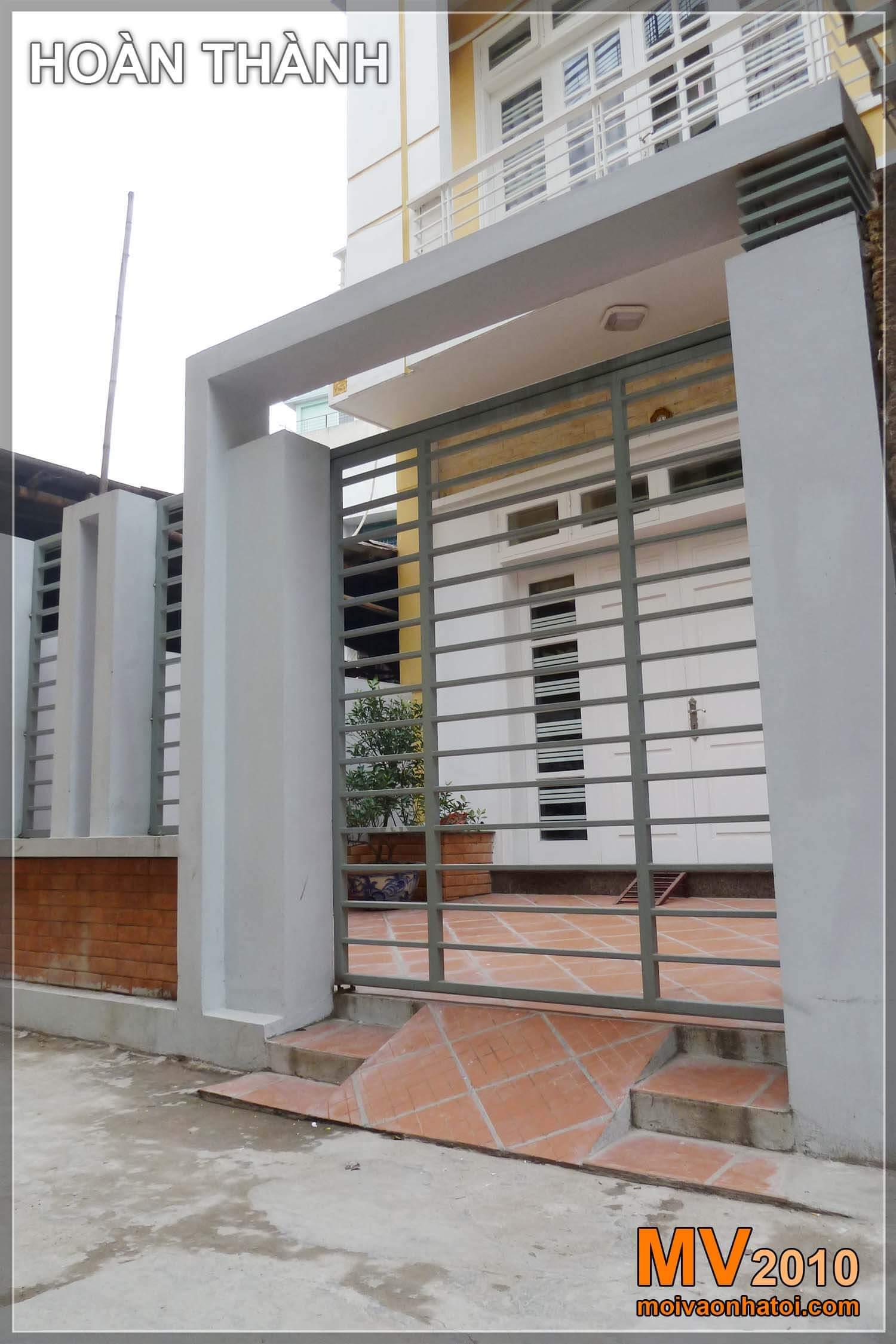 Thiết kế cổng vào căn nhà