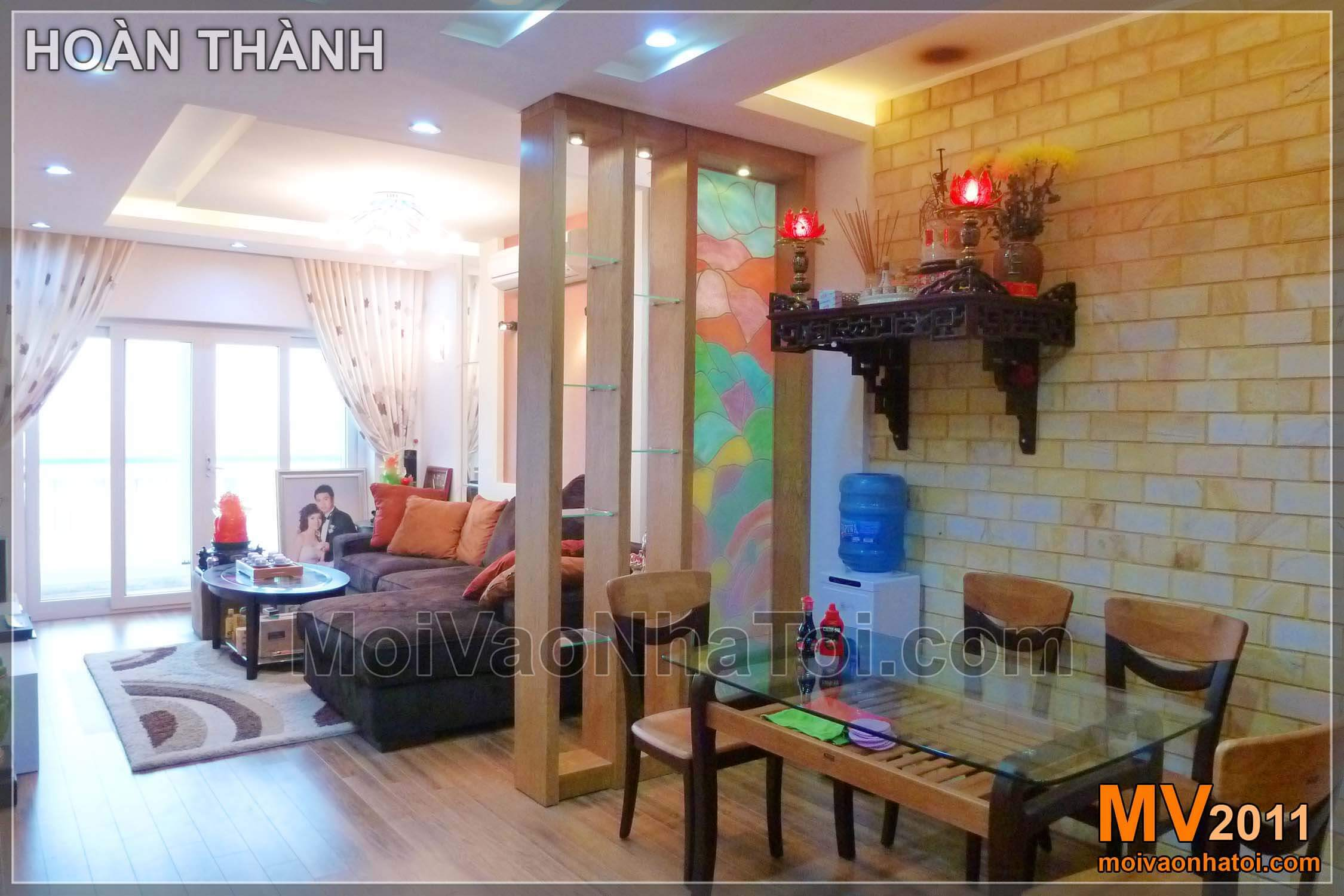 Nội thất chung cư Việt Hưng Happy House khi hoàn thành