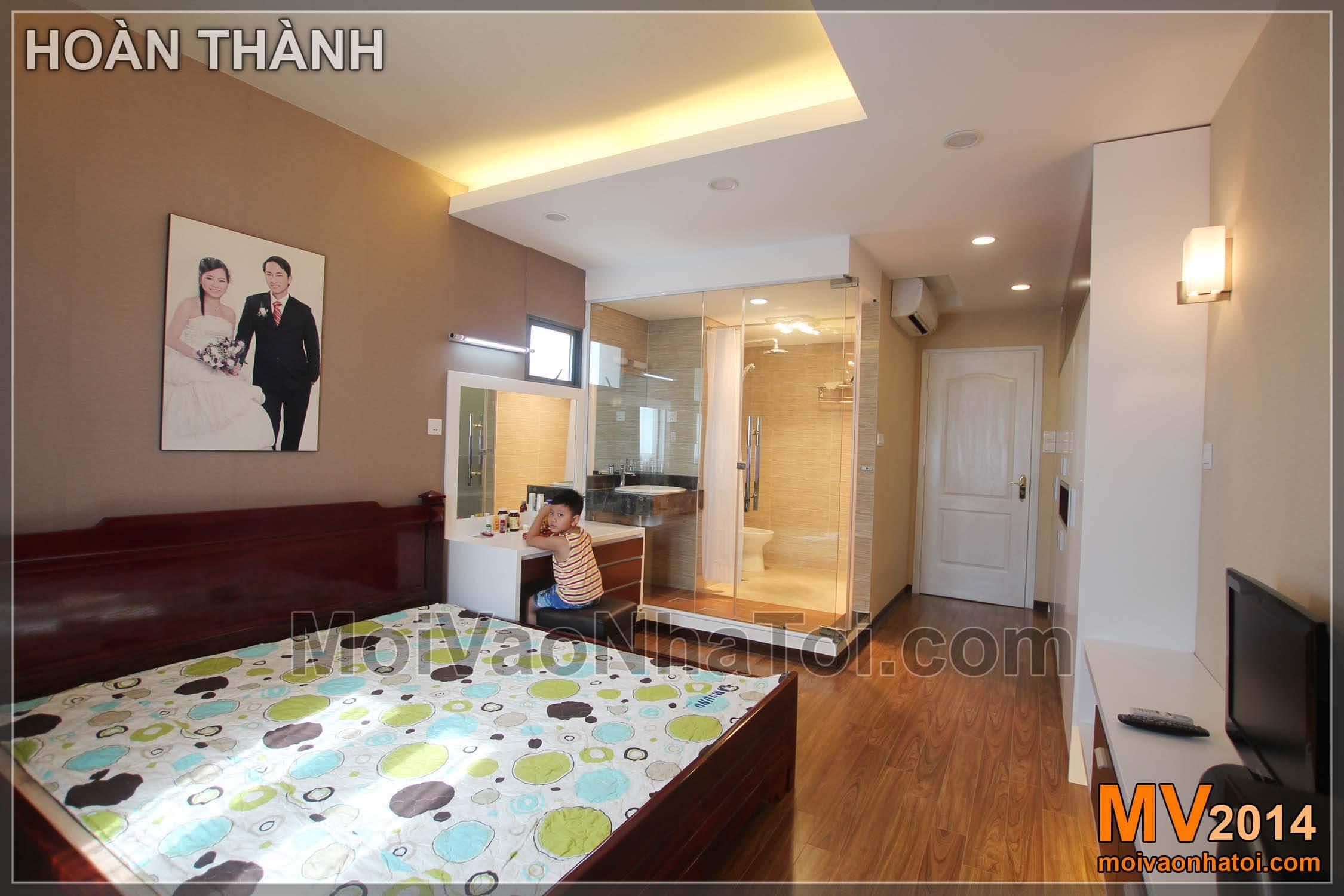 Chung cư Mulberry Lane Phòng ngủ master nội thất hoàn thiện