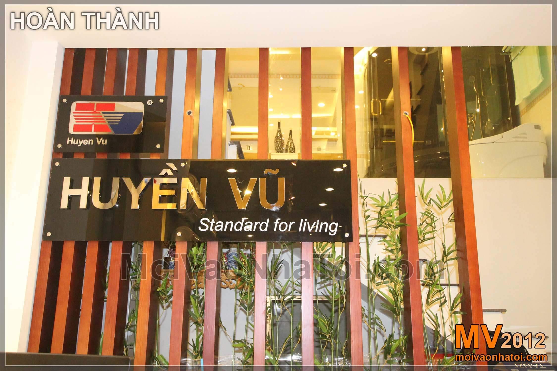 Thiết kế showroom thiết bị vệ sinh Tanzi Huyền Vũ