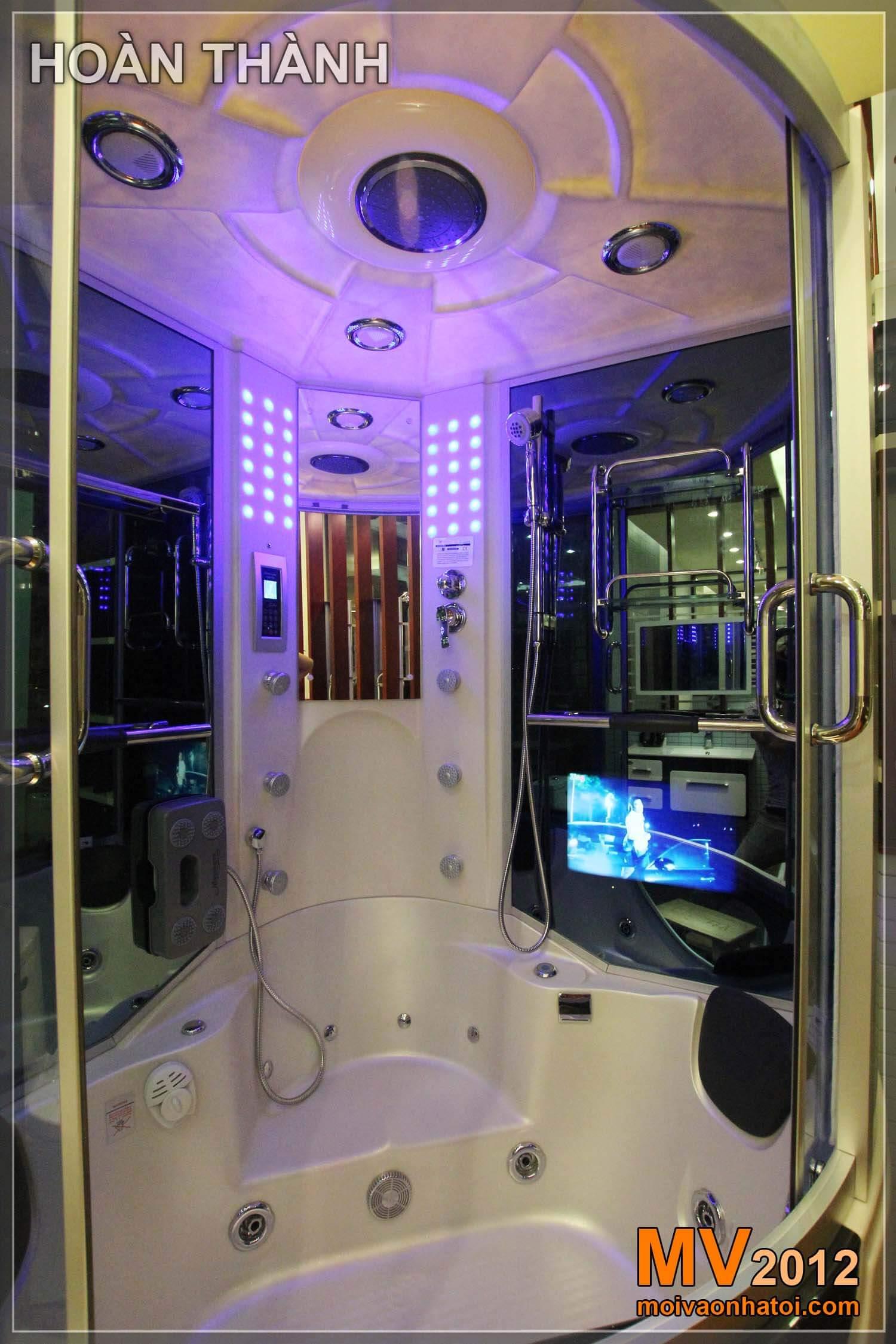 Nội thất Cabin khoang tắm kính