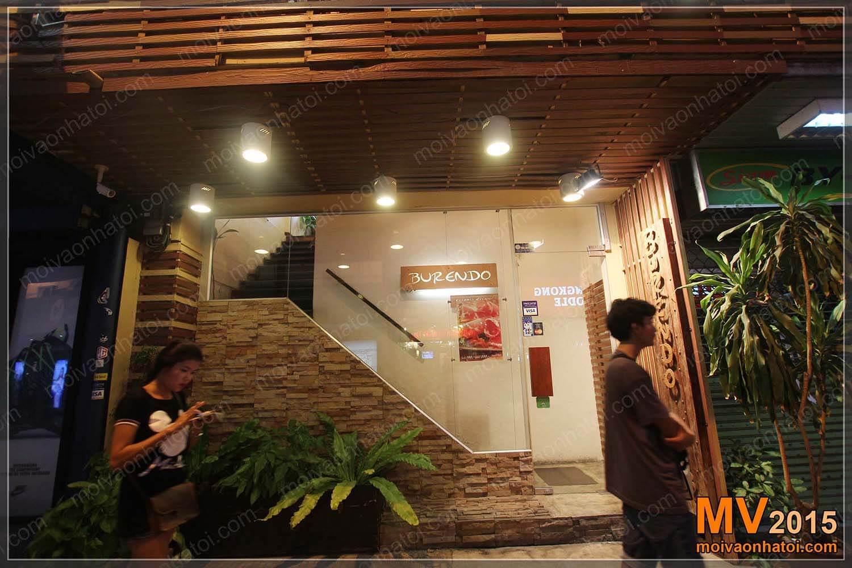 Thiết kế nhà hàng Burendo