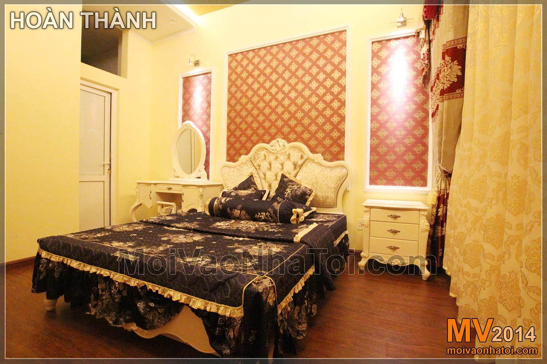 Phòng ngủ con thiết kế theo phong cách tân cổ điển