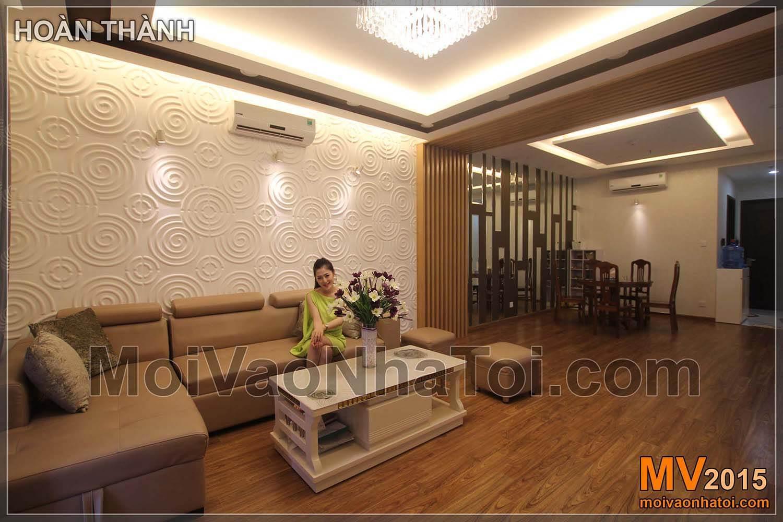 Chung cư Times City T8 Nội thất căn hộ khi đã hoàn thiện