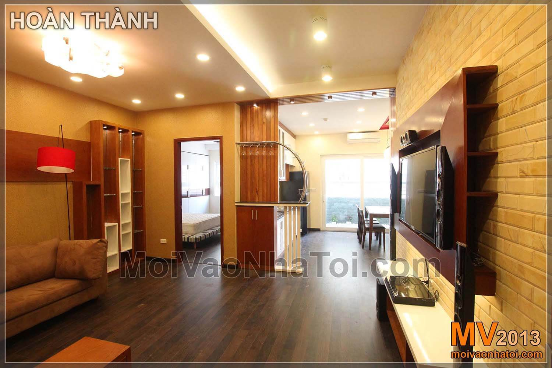 Thiết kế nội thất chung cư Nam Đô Complex