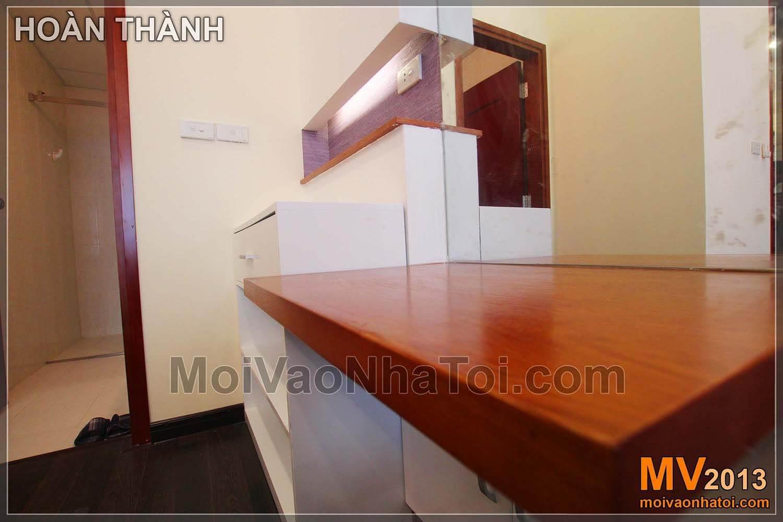 Nội thất đồ gỗ - bàn trang điểm của phòng ngủ