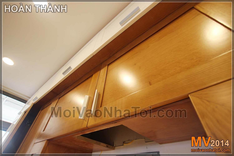 Quá trình thi công lắp đặt nội thất đồ gỗ phòng ngủ con