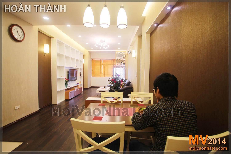 Thiết kế nội thất chung cư VOV Mễ Trì 80m2