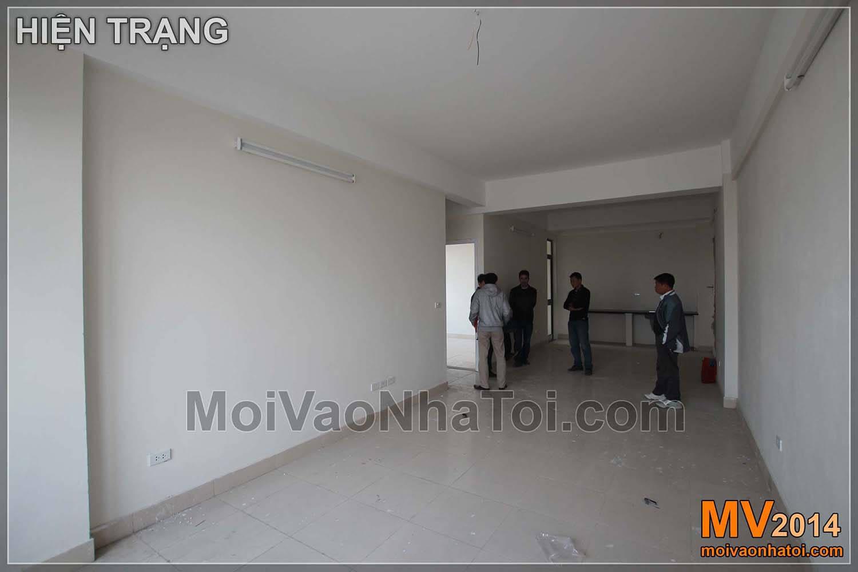 Hiện trạng bàn giao nội thất căn hộ VOV Mễ Trì