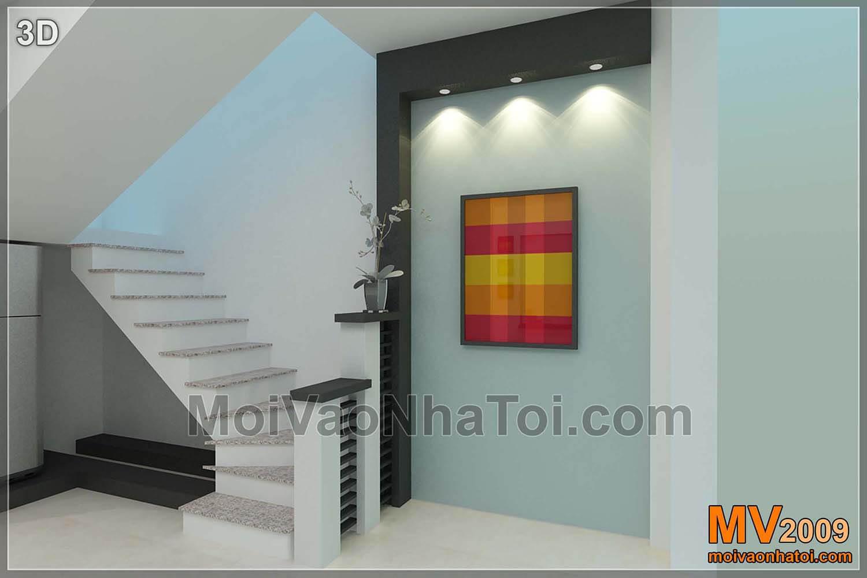 Vách ngăn cầu thang - bản thiết kế