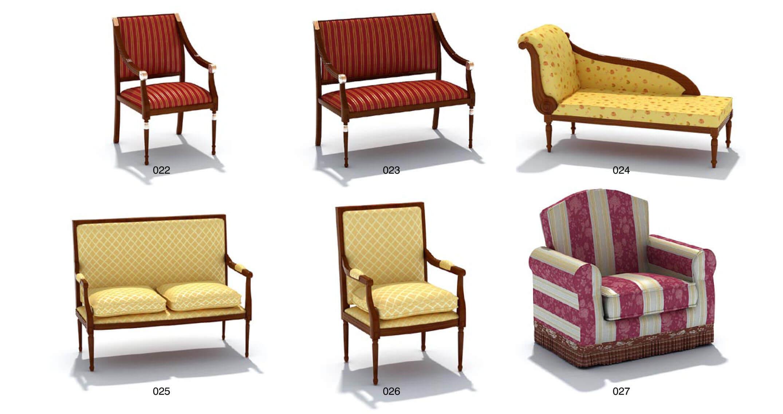 Mẫu ghế sofa cổ điển và cách tân
