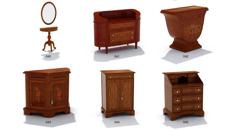Các loại tủ trang trí, tủ góc