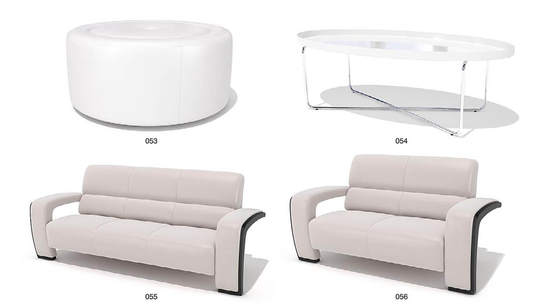 Một số mẫu ghế sofa và bàn kính có kiểu dáng kết cấu lạ mắt