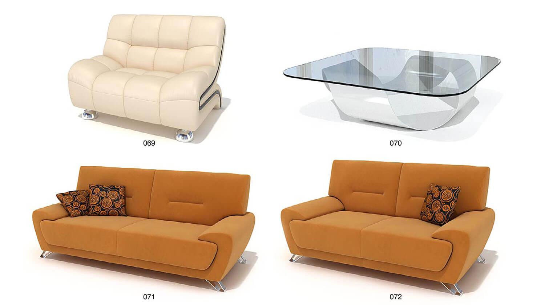 Sofa nỉ màu vàng trẻ trung với kiểu dáng khá đẹp