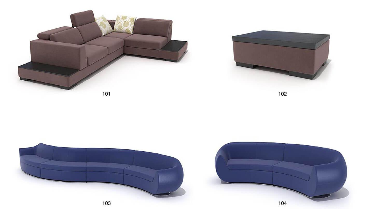 Sofa ghép block cho quán karaoke